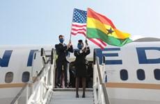 Hàng không Mỹ mở lại chuyến bay đến Ghana sau một thập kỷ gián đoạn