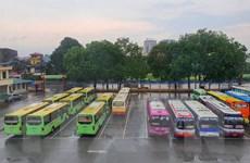 Từ ngày 21/5, Bắc Giang dừng toàn bộ hoạt động vận tải hành khách