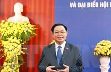 Chủ tịch Quốc hội Vương Đình Huệ kiểm tra công tác bầu cử tại Đông Anh