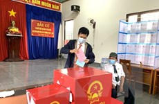Đồng Nai: Cử tri công nhân, công giáo, dân tộc tích cực đi bỏ phiếu