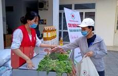 Hội Chữ thập đỏ Việt Nam kêu gọi ủng hộ người nghèo phòng, chống dịch