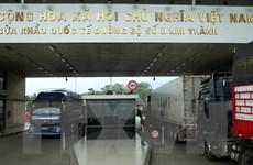 Lào Cai siết chặt quản lý lái xe vận tải từ các địa phương có dịch