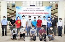 Việt Nam giành 6 huy chương tại Olympic Tin học châu Á-Thái Bình Dương