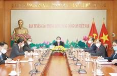 Tăng cường hợp tác giữa Ban Tuyên giáo TW và Ban Tuyên huấn TW Lào