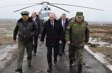 Tổng thống Putin ca ngợi tính độc nhất, ưu việt của vũ khí mới ở Nga