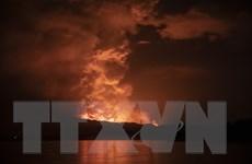 """Thêm một ngọn núi lửa """"thức giấc"""" tại Cộng hòa Dân chủ Congo"""
