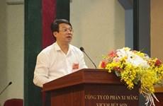 Chủ tịch VICEM Bùi Hồng Minh trở thành tân Thứ trưởng Bộ Xây dựng
