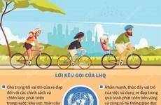 [Infographics] Ngày Xe đạp thế giới 3/6/2021: Khuyến khích việc đạp xe