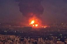 Hết cháy tàu hải quân, nhà máy lọc dầu của Iran lại bị hỏa hoạn