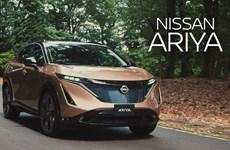 Nissan hoãn đưa ra thị trường mẫu ôtô điện Ariya do thiếu chip