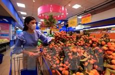 Vải Việt Nam cạnh tranh tốt với Trung Quốc tại thị trường Singapore