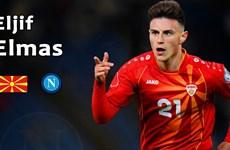 """EURO 2020: Elif Elmas - """"Viên kim cương"""" của Bắc Macedonia"""