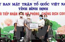 Chung tay ủng hộ phòng, chống dịch COVID-19 tại Vĩnh Phúc, Bình Định