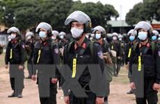 Lực lượng công an quyên góp ủng hộ phòng, chống dịch COVID-19