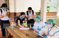 Lào đã tiêm hơn 1 triệu liều vaccine phòng COVID-19 cho người dân