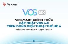 VinSmart cập nhật hệ điều hành VOS 4.0 trên dòng điện thoại thế hệ 4