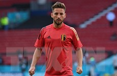 EURO 2020: Dries Mertens hướng tới câu lạc 100 của đội tuyển Bỉ