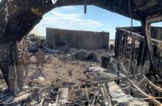 Căn cứ quân sự Iraq có binh sỹ Mỹ đồn trú tiếp tục bị tấn công