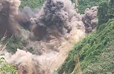Đánh sập 75 hầm khai thác vàng trái phép tại Vườn quốc gia Sông Thanh