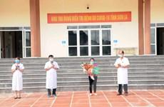 Bệnh nhân COVID-19 đầu tiên tại Sơn La được điều trị khỏi