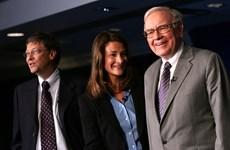 Tỷ phú Buffett rút khỏi vai trò quản lý quỹ Bill and Melinda Gates