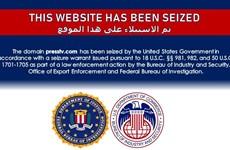 Iran lên án Mỹ chiếm quyền kiểm soát các trang web truyền thông