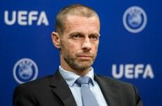 Chủ tịch UEFA nói gì về quyết định xóa bỏ luật Bàn thắng sân khách?
