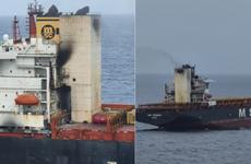 Tàu container bốc cháy trên Ấn Độ Dương, 1 thủy thủ mất tích