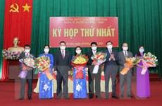 Kiện toàn các chức danh chủ chốt của HĐND và UBND tỉnh Bắc Kạn