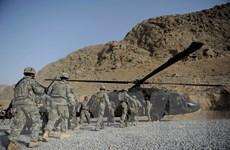 Các lực lượng nước ngoài rời khỏi căn cứ quân sự Bagram ở Afghanistan