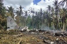 Philippines khẳng định vụ rơi máy bay C-130 không phải do bị tấn công