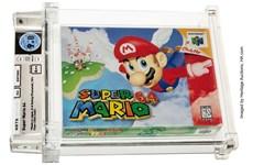 Băng video game Super Mario 64 được bán với giá kỷ lục 1,56 triệu USD