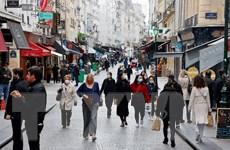 Số ca mắc mới COVID-19 tại Pháp tăng gấp đôi sau mỗi 5 ngày