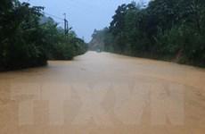 Mưa lớn gây nguy cơ lũ quét, sạt lở đất tại các tỉnh miền núi phía Bắc
