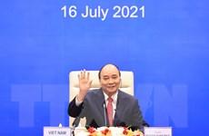 Chủ tịch nước Nguyễn Xuân Phúc dự cuộc họp các nhà lãnh đạo APEC