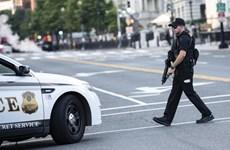 Mỹ: Nổ súng gần Nhà Trắng, cảnh sát đang truy tìm nghi phạm