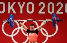 Olympic Tokyo 2020: Nữ VĐV cử tạ Papua New Guinea làm nên lịch sử