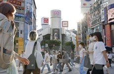 Số ca mắc mới tại Nhật Bản tăng cao kỷ lục trong ngày thứ 2 liên tiếp