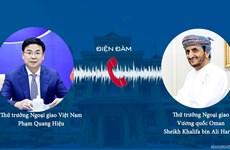 Việt Nam-Oman tăng cường hợp tác trong phòng, chống dịch COVID-19