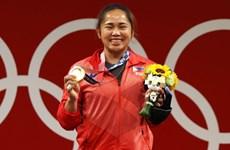 Nữ VĐV Philippines được chào đón như người hùng khi trở về từ Olympic