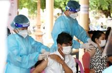 Campuchia sẽ tiêm vaccine COVID-19 mũi thứ ba cho lực lượng tuyến đầu