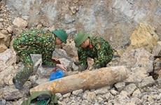 Quảng Bình: Phát hiện, xử lý an toàn quả bom nặng hơn 200kg