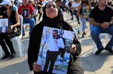 Liban tưởng niệm nạn nhân vụ nổ kinh hoàng ở cảng Beirut 1 năm trước