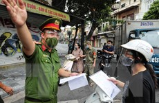 Công an Thủ đô vừa chống dịch, vừa đảm bảo trật tự, an toàn xã hội