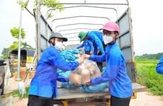 Dịch COVID-19: Hà Nội không để thiếu hàng hóa phục vụ người dân