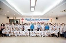 Viện Huyết học-Truyền máu TƯ cử đoàn cán bộ hỗ trợ miền Nam chống dịch