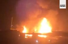 Nổ xe bồn chở xăng tại Liban làm hàng chục người thiệt mạng