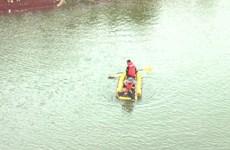 Tìm thấy thi thể một trong hai nạn nhân đuối nước ở sông Thương