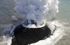 Nhật Bản phát hiện một hòn đảo mới do núi lửa ngầm phun trào