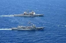 Tàu tên lửa Mỹ tham gia tập trận chung với Ai Cập ở Biển Đỏ